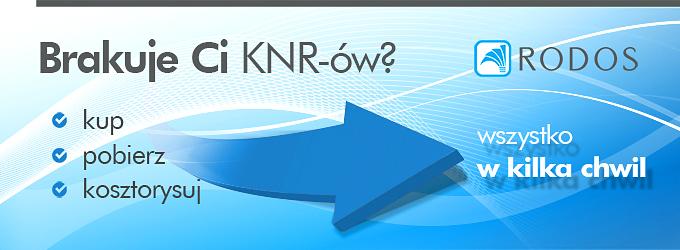 Brakuje Ci KNR-ów? Kup, pobierz, kosztorysuj, wszystko w kilka chwil!